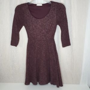 Alter'd State Plum Mini Dress